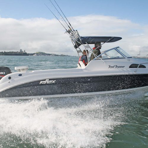 Reflex, Cresta Craft and Haines signature powerboats.